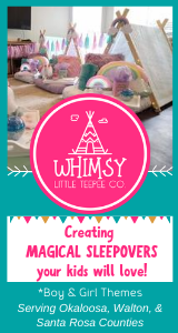 Whimsy Little Teepee Company Sleepover Parties