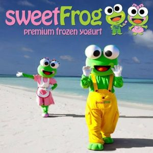 Sweet Frog Frozen Yogurt: Fundraising and Student Reward Cards