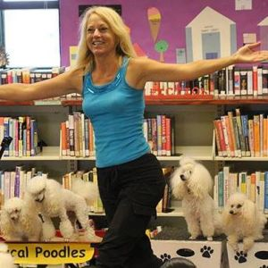 Michelle's Magical Poodles Library and Schools Program