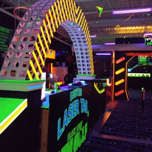 Destin Laser Tag And Blacklight Mini Golf Birthday Party