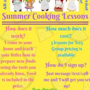 Chef Stephanie's Kids Cooking Classes