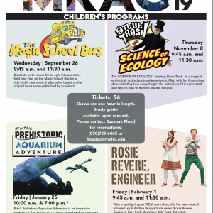 Childrens Shows at Mattie Kelly Arts Center