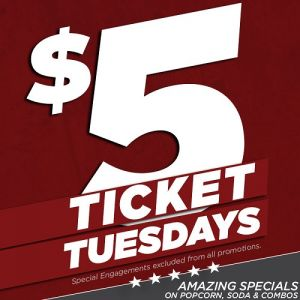 NewVision Theatres Boulevard 10: $5 Tuesdays