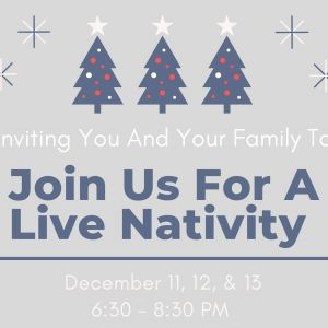 Live Nativity at Valparaiso First Assembly of God