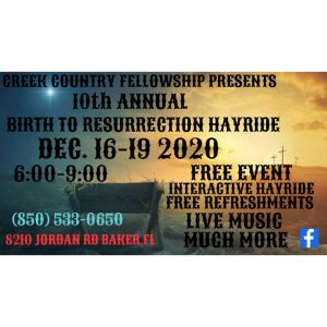 Birth to Resurrection Hayride